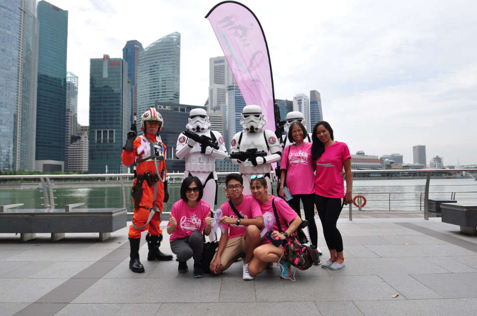 Pink Ribbon Walk 2017: Singapore's Very First Pink Ribbon Parade in Celebration of 20 Years of Breast Cancer Awareness and Outreach