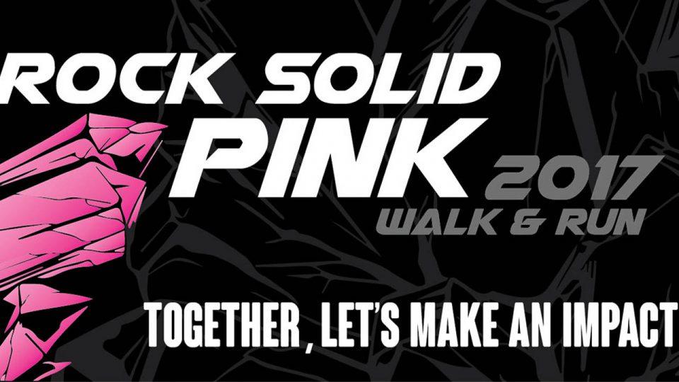 Rock Solid Pink Walk & Run 2017