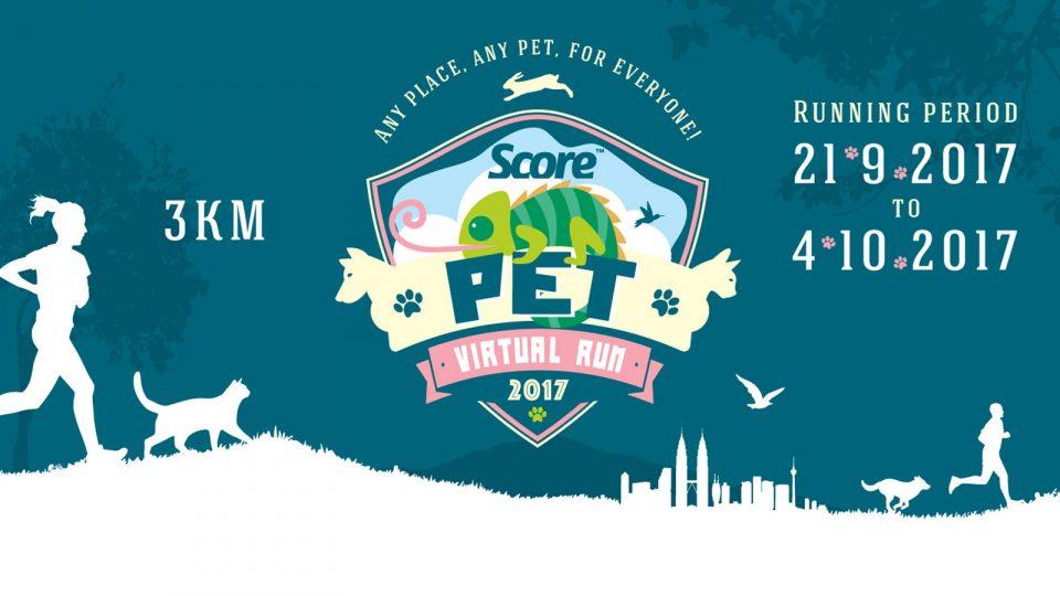SCORE Pet Virtual Run 2017
