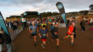 Saucony Surf Coast Trail Marathon 2017
