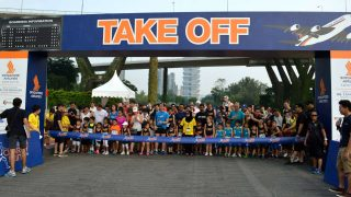 Runners Become High Flyers at the SIA Charity Run 2017