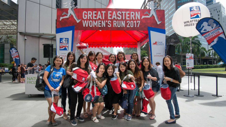 Get Great Eastern Women's Run 2017 Race Discount, an adidas Tee and a Sports Bag