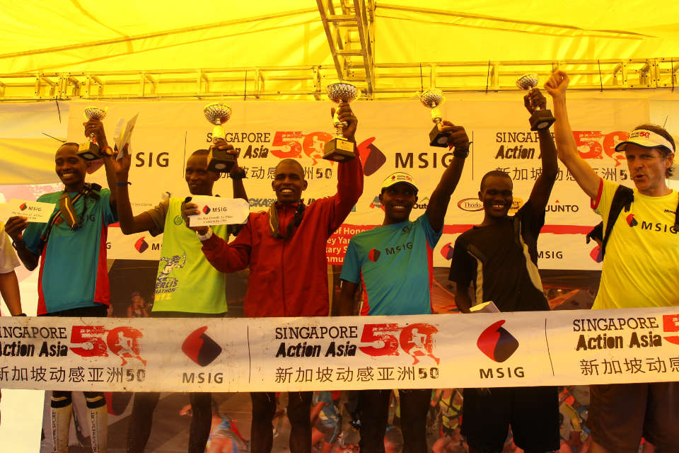 MSIG Singapore Action Asia 50 2017 Race Results: Kenyans Top the Podium
