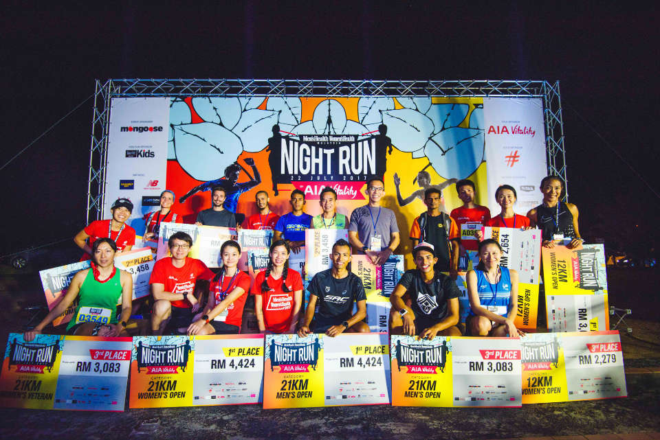 13,000 Runners Swarmed the Most Anticipated Night Run in Malaysia, the Men's Health Women's Health Night Run