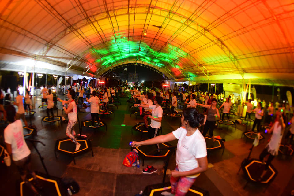 Singapore Sets Guinness World Records for Most People on Trampolines