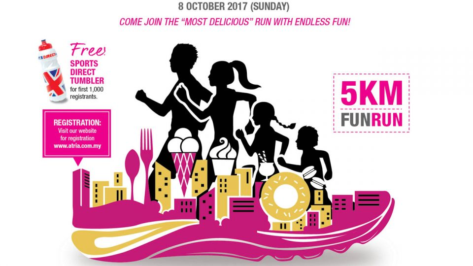 Atria Makan Fun Run 2017