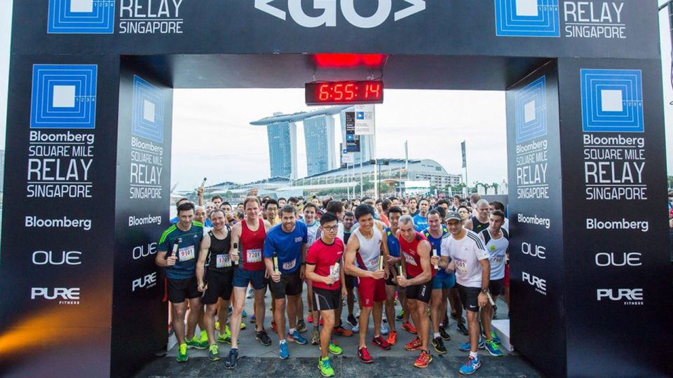 Bloomberg Square Mile Relay 2017