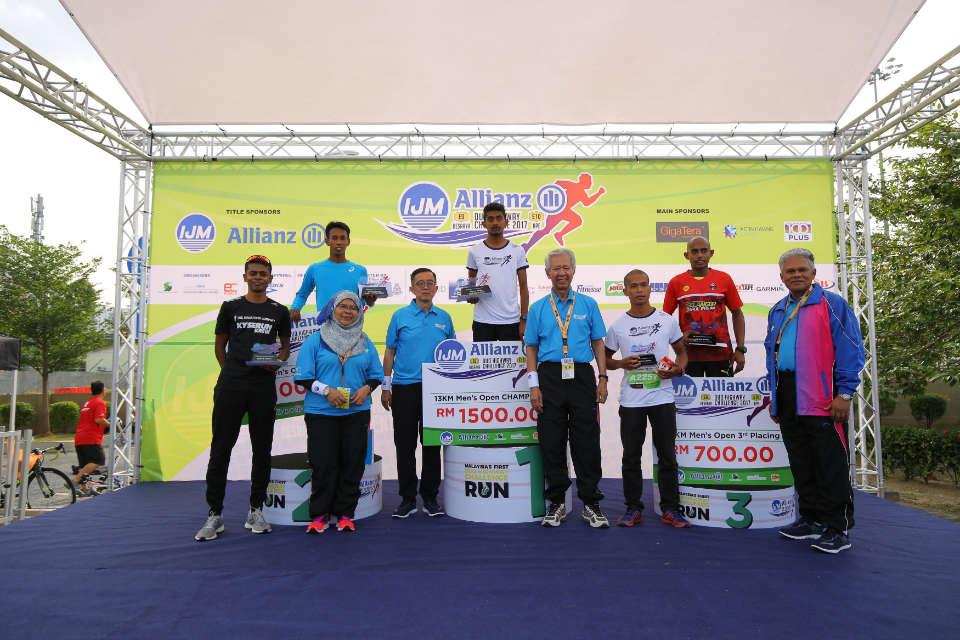 First Leg of IJM-Allianz Duo Highway Challenge Kicked Off at Besraya Highway