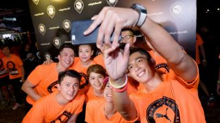 Run Alongside Celebrities at PUMA Night Run Singapore 2017