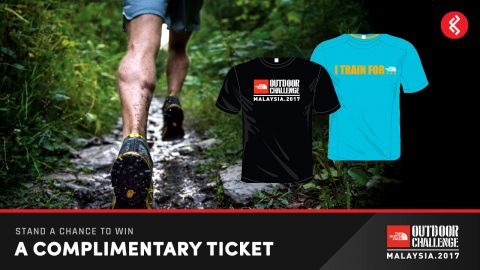 Free The North Face Outdoor Challenge Race Tickets
