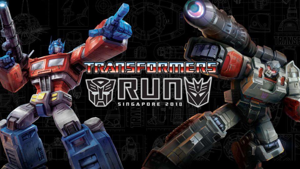 Transformers Run 2018 Singapore