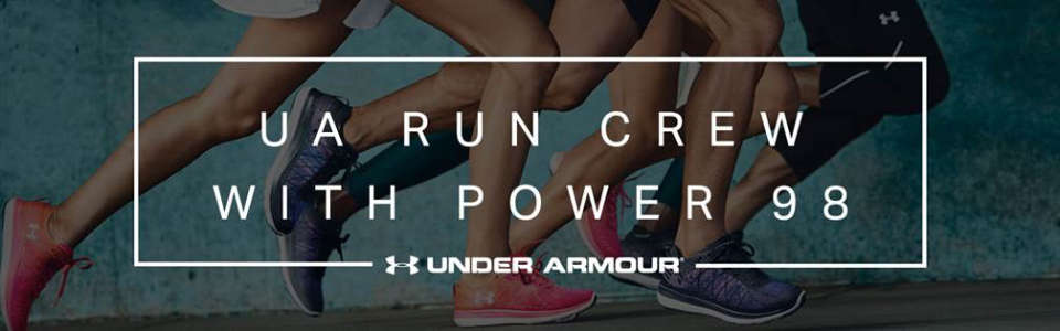 Under Armour's Weekly Running Sessions and UA x SCSM Collection
