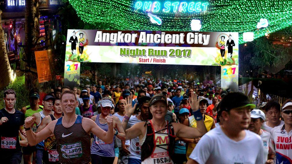 Angkor Ancient City Night Run 2017