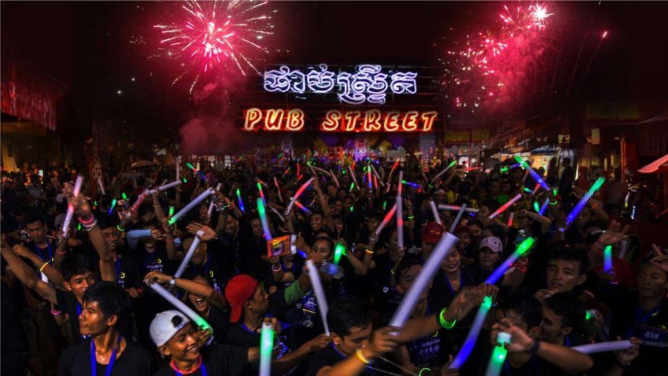 Angkor City Night Run 2017