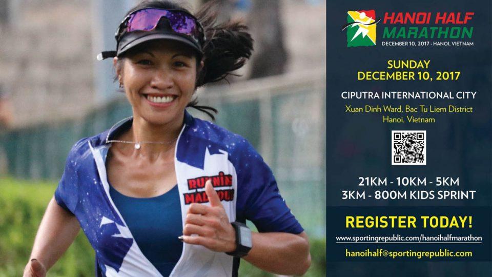 Hanoi Half Marathon 2017