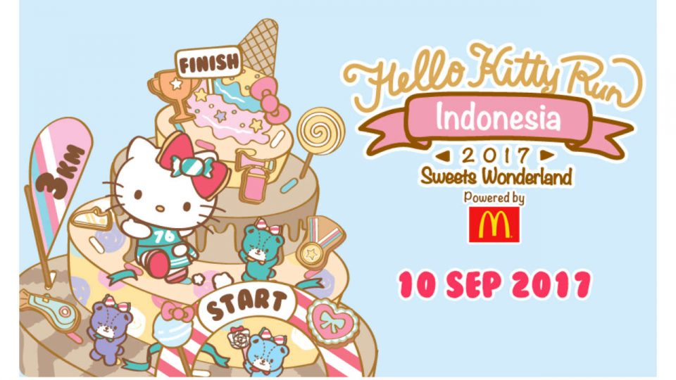 Hello Kitty Run Indonesia 2017