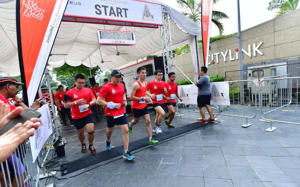 The Sky's the Limit at the 30th Swissôtel Vertical Marathon 2017!