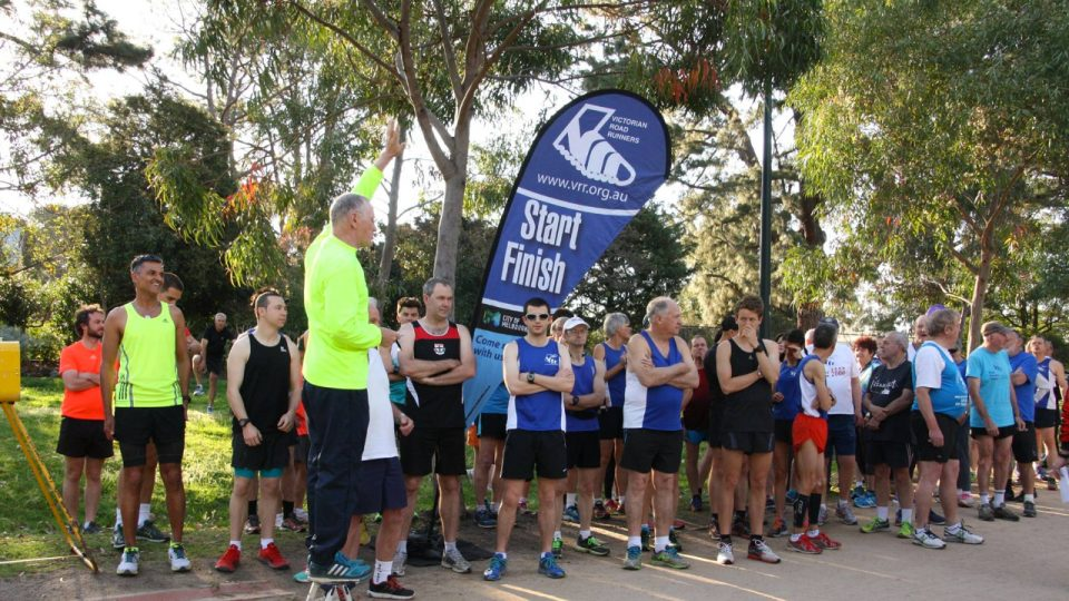Victorian Road Runners Tan Time Trial