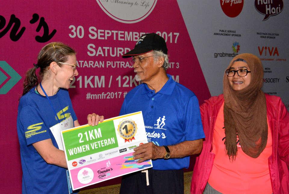 A Running Legacy: MAKNA Founder's Night Run 2017