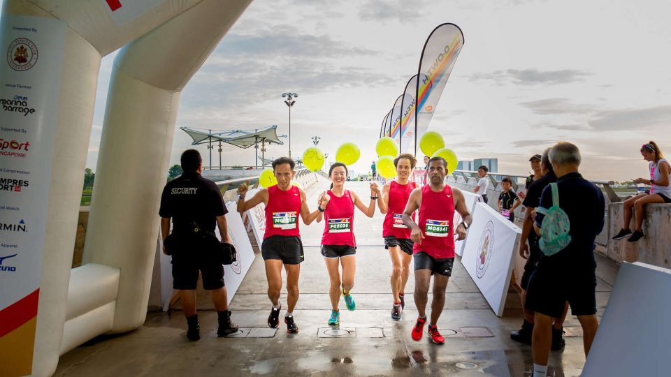 "We're Declaring November ""Singapore Run Month""!"