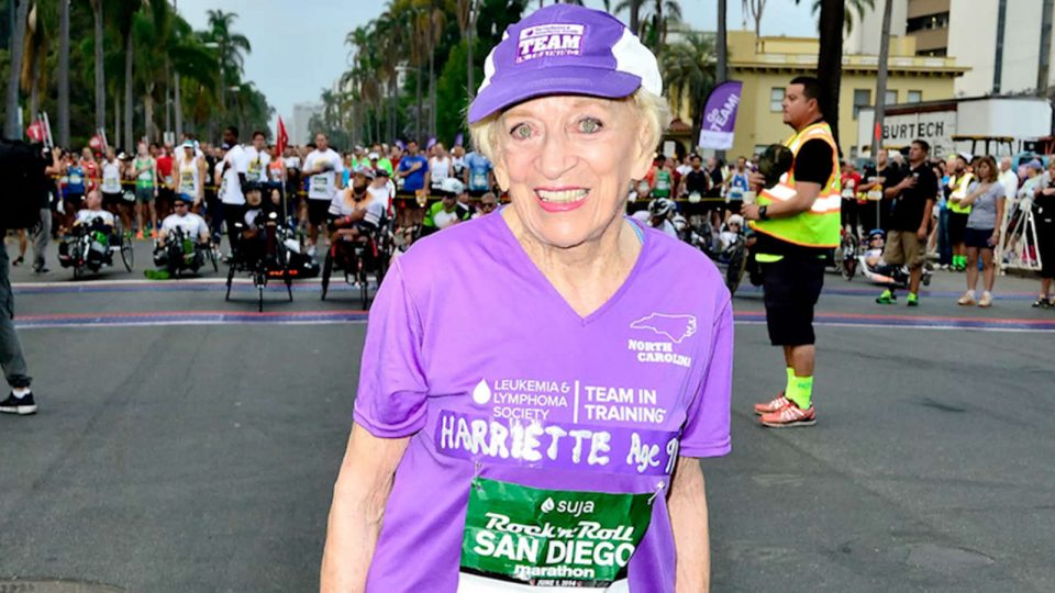 Oldest Female Marathon Finisher Harriette Thompson Passed Away at 94