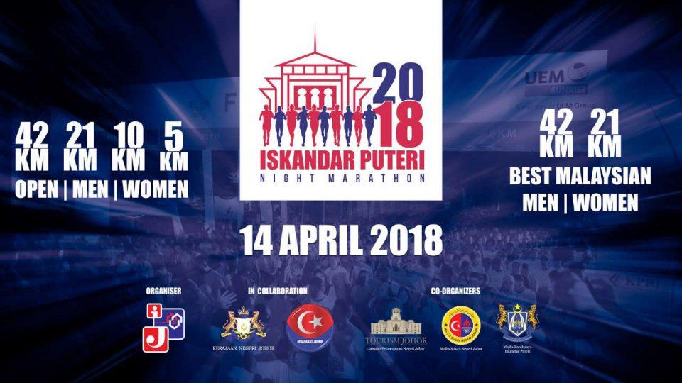 Iskandar Puteri Night Marathon 2018