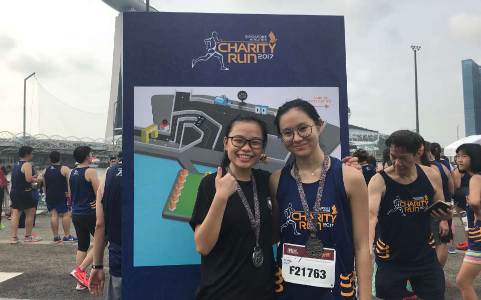 SIA Charity Run 2017 Review: No Rain Can Dampen Our Soaring Mood