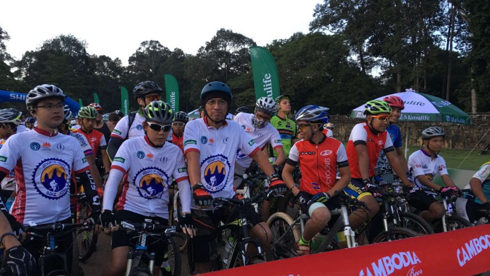 The 12th Angkor Wat Bike4kids 2017