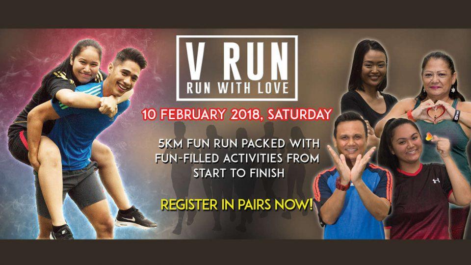 V-Run - Run with Love