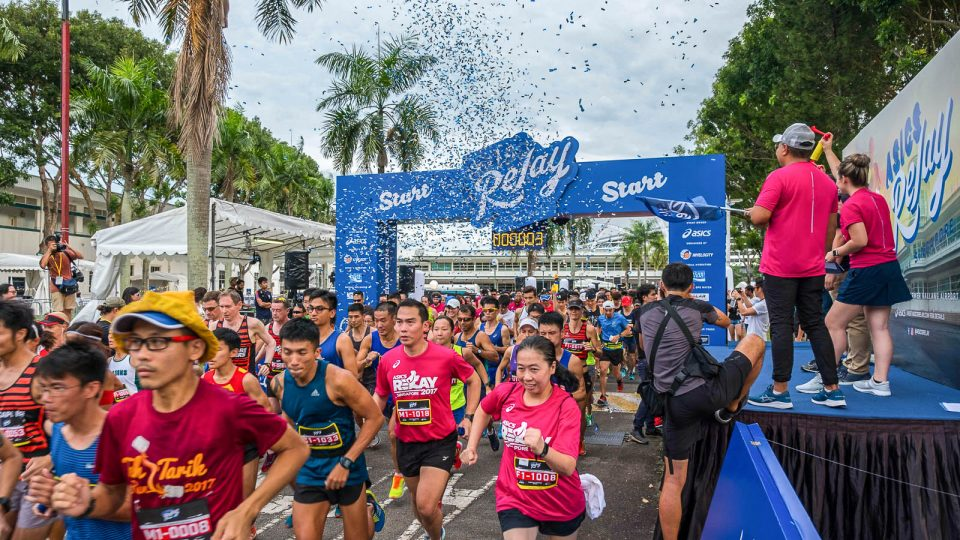 ASICS Relay Singapore 2017 Race Review  Battling the Rain with My Lovely  Team 7ccc04bca6