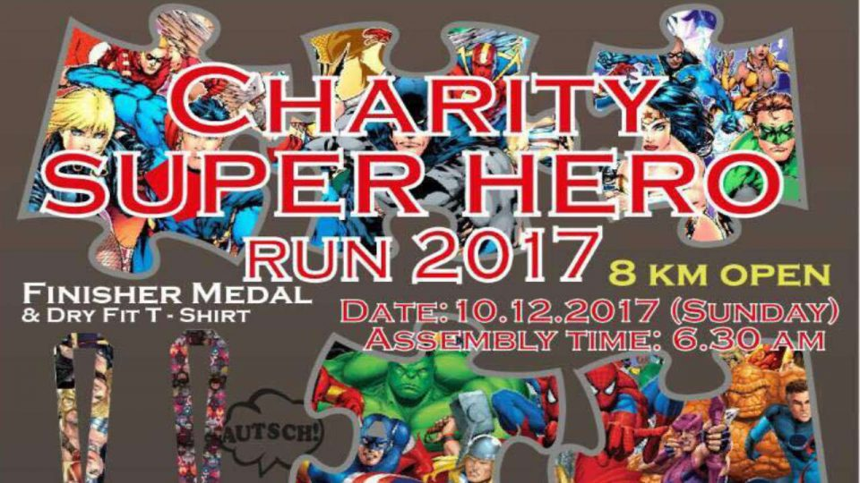 Charity Super Hero Run 2017