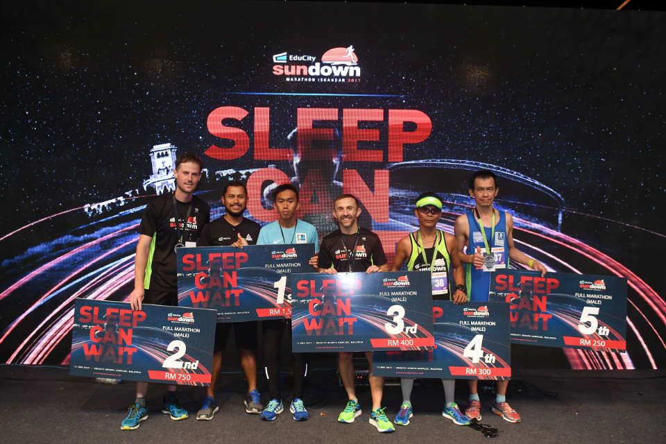 3,500 Runners Gave Up Their Sleep to Race in EduCity Sundown Marathon Iskandar 2017