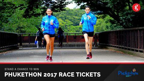 Win Phukethon 2017 Race Tickets