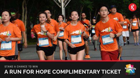 Win Run For Hope 2018 Run Tickets