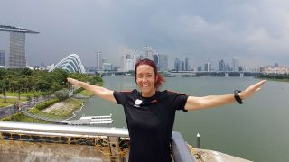 Would You Join Veronique's Attempt to Run 250KM Around Singapore on 15 December 2017?
