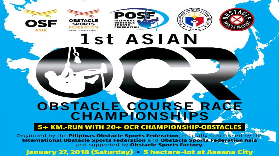 1st Asian OCR Championships 2018