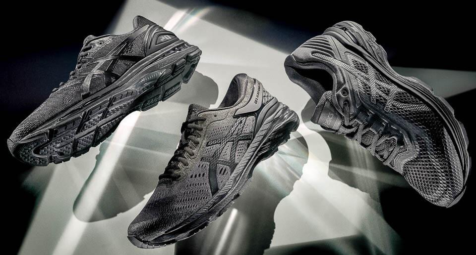 All ASICS Shoes Released in 2017: ASICS Monochrome Pack: ASICS GEL-KAYANO 24, GT-2000 6, GEL-NIMBUS 20.