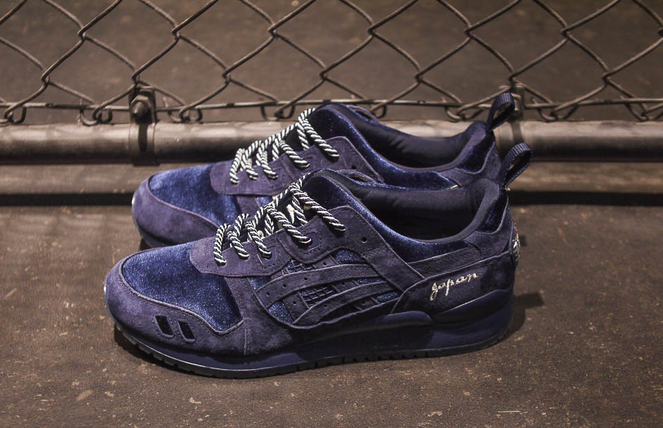 All ASICS Shoes Released in 2017: ASICSTiger x Beams x Mita GEL-LYTE III