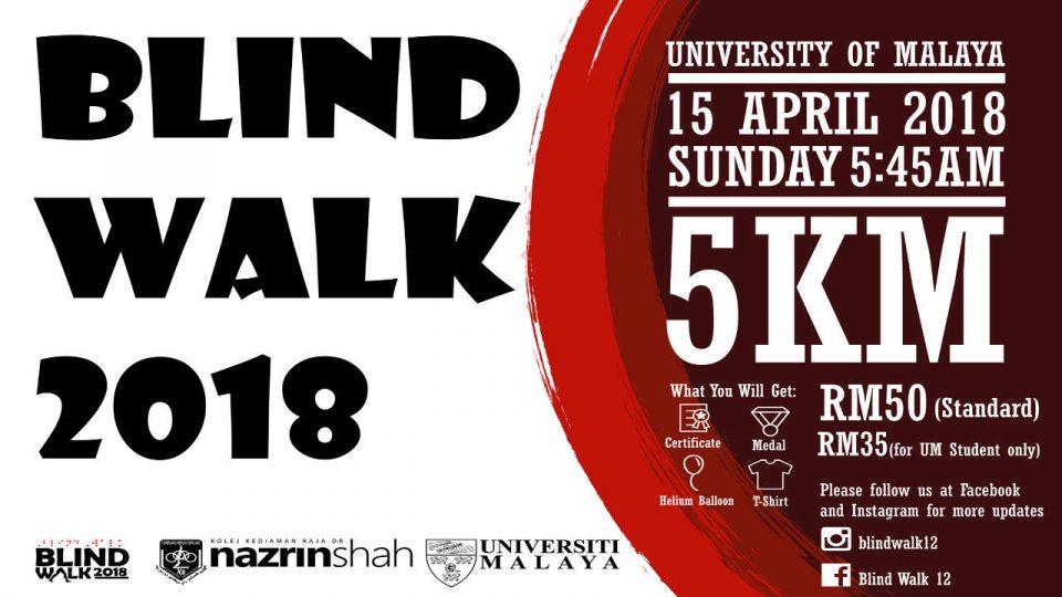 Blind Walk 2018