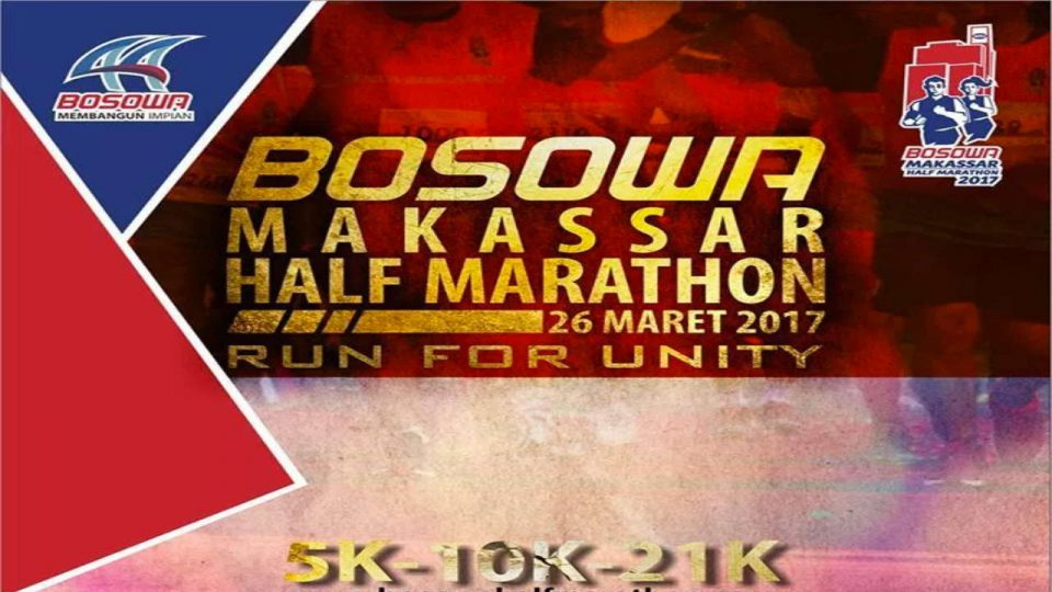 Bosowa Half Marathon 2017