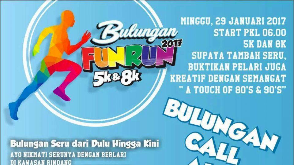 Bulungan Fun Run 2017