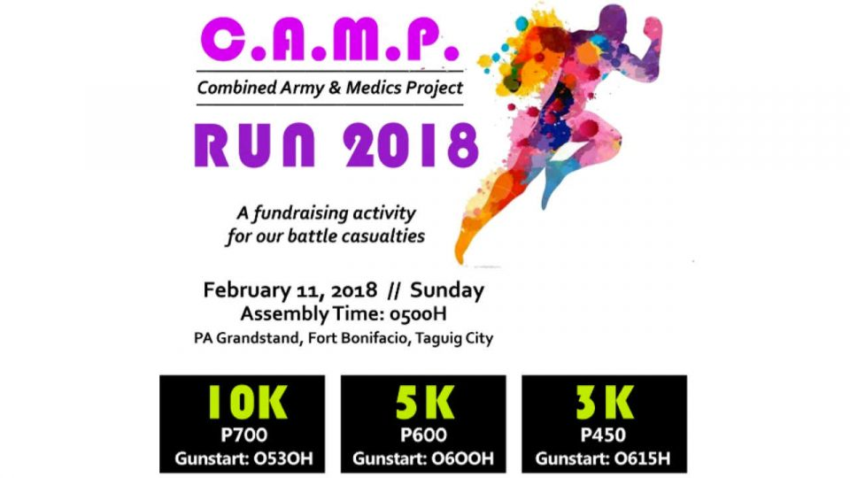 Combined Army and Medics Project Run 2018