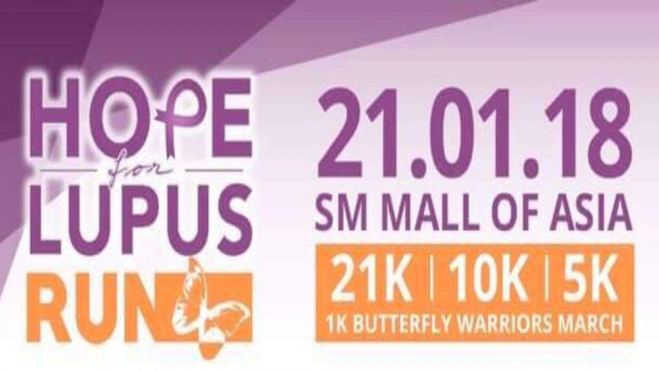 Hope for Lupus Run 2018