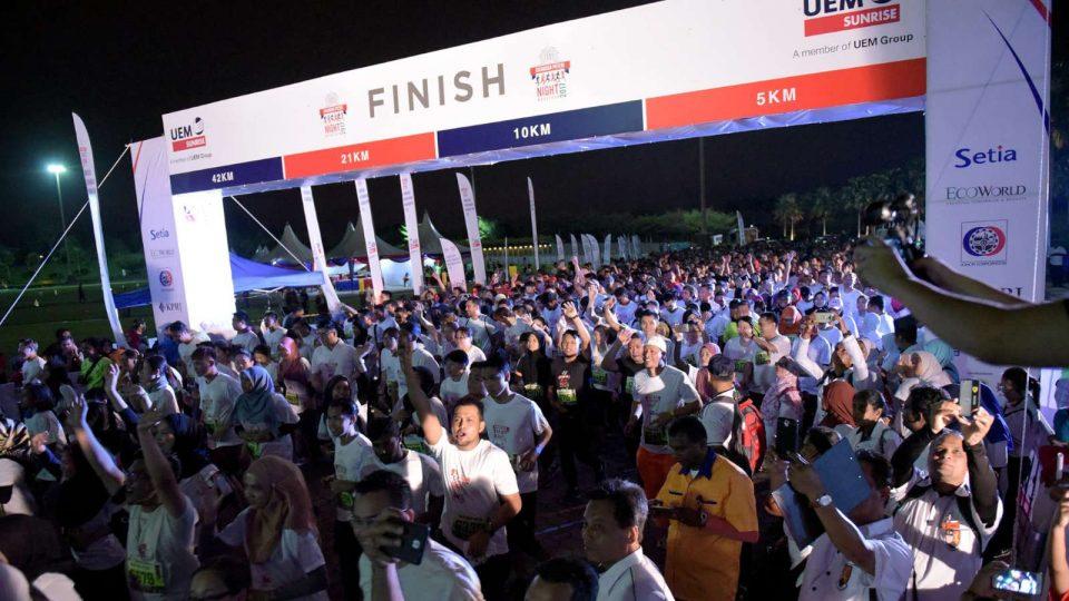 Iskandar Puteri Night Marathon 2018: Make Your Own History on 14th April