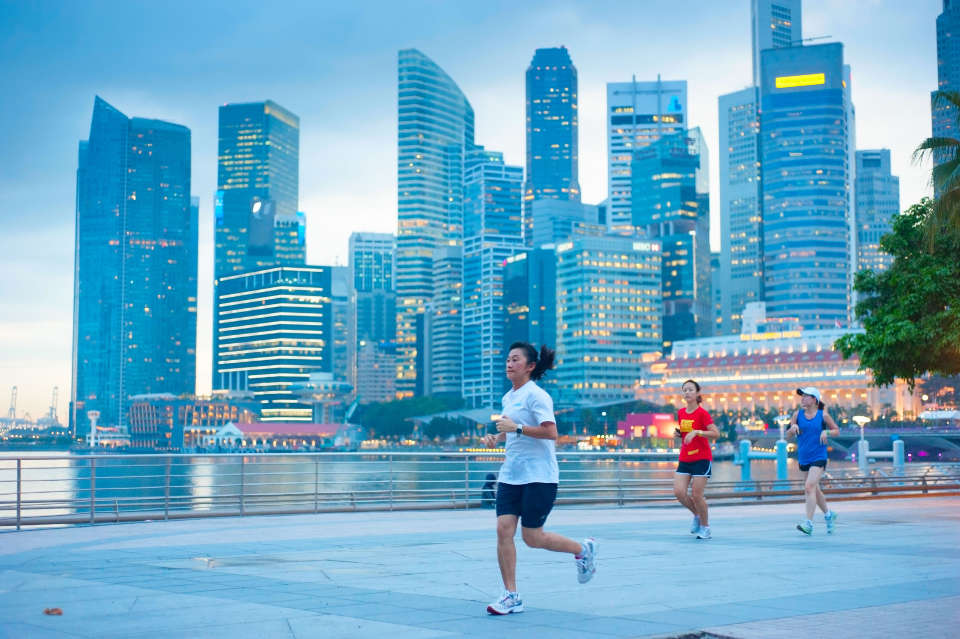 Is Running the Long-Term Solution for Singapore's Economy and Aging Population?