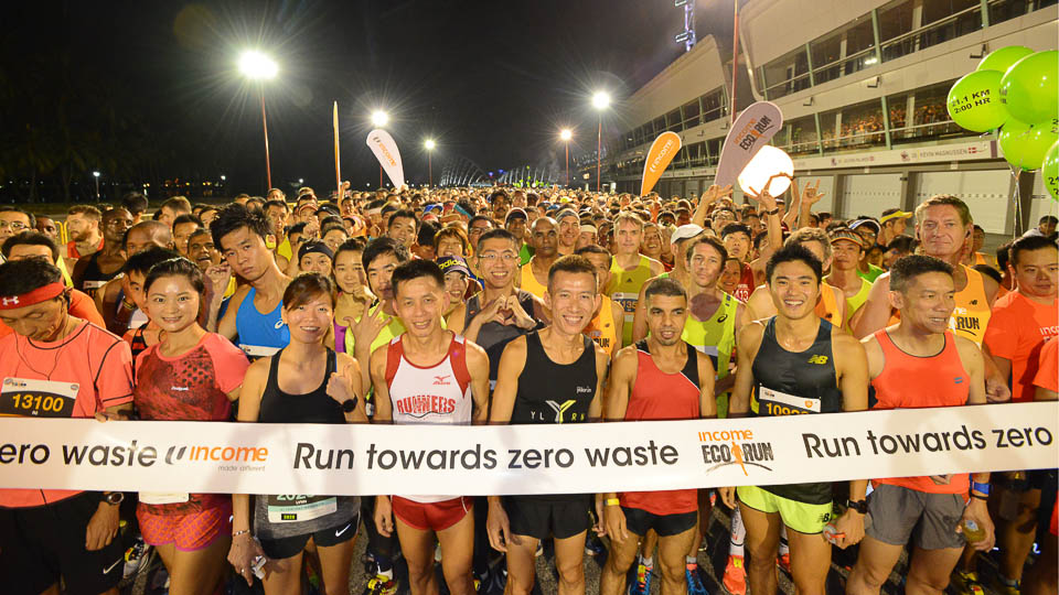 Top 10 Singapore Running Events Of 2017 - Income Eco Run