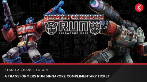 Win Transformers Run Singapore 2018 Tickets