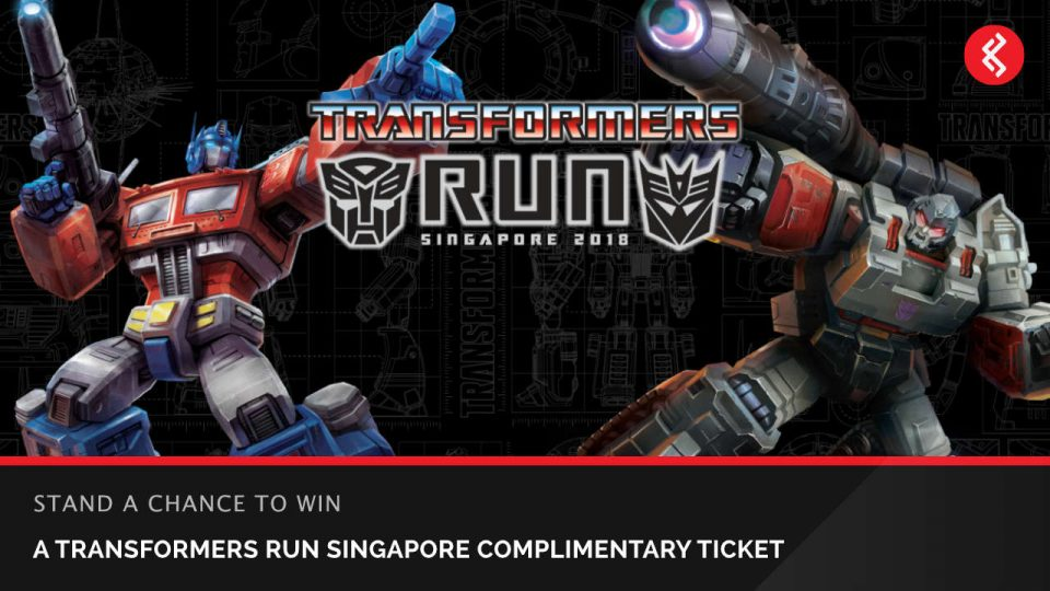 Win Transformers Run Singapore 2018 Tickets