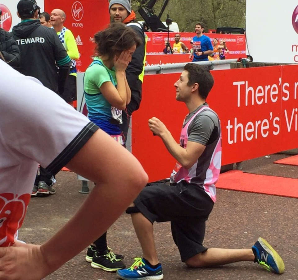 Your Guide to Proposing Marriage at an Upcoming Marathon
