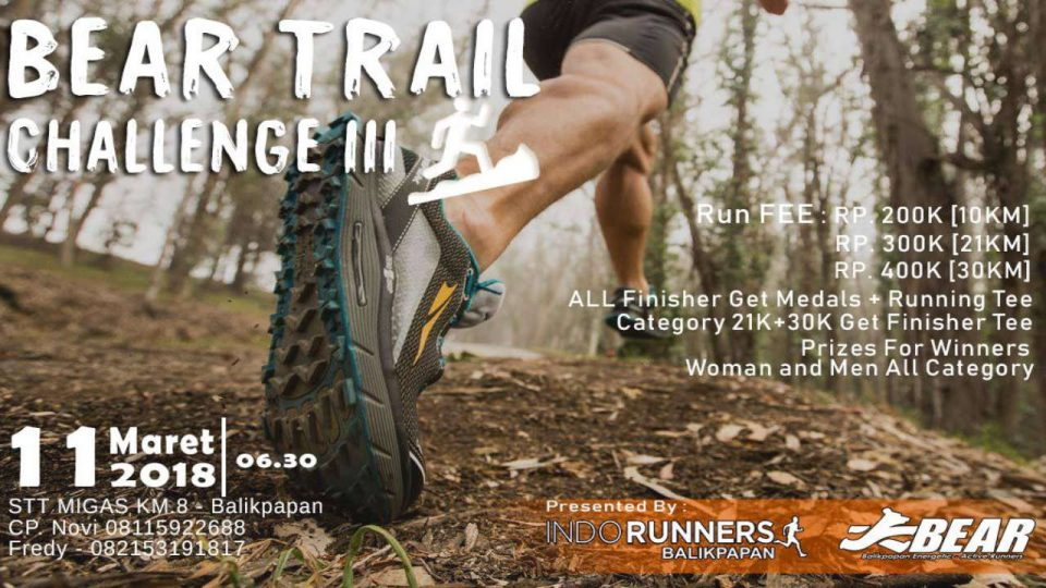 BEAR Trail Challenge III 2018